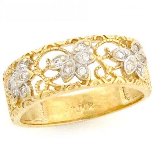 Diamond Gold Wedding Bands