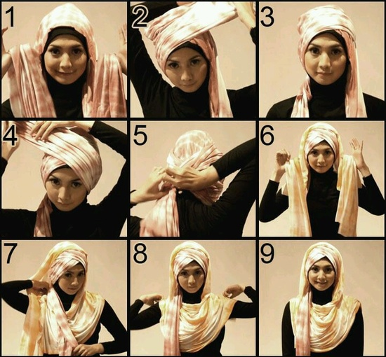 30 Hijab Styles Step By Step Style Arena Things To Wear Pinterest Hijabs Hijab