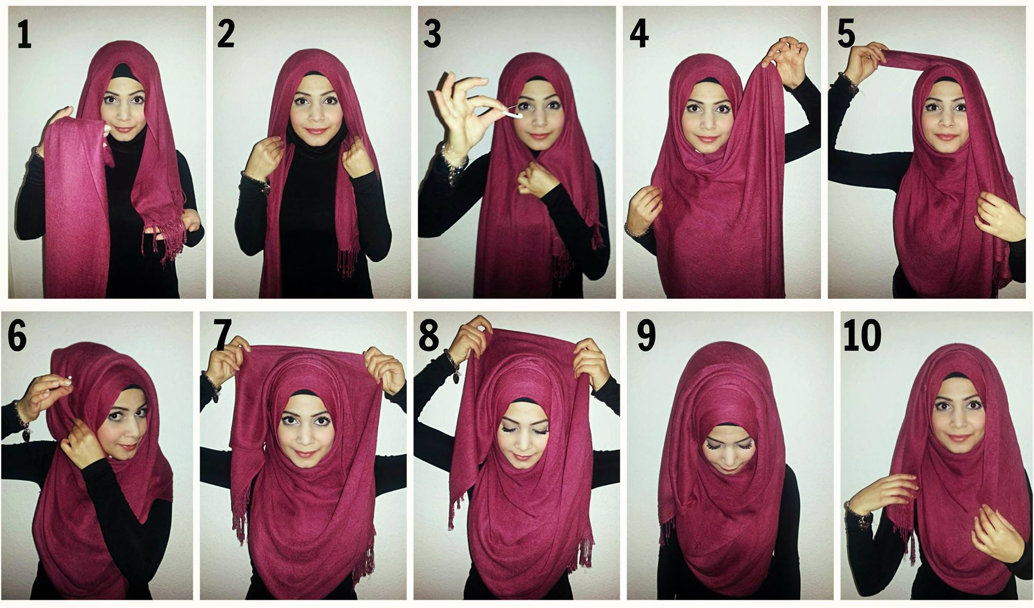 6+ Hijab Styles Step by Step - Style Arena