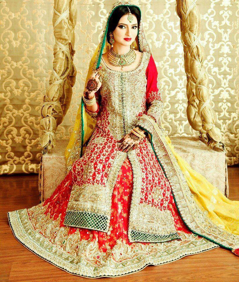 Latest pakistani bridal dresses style arena for Online pakistani wedding dresses