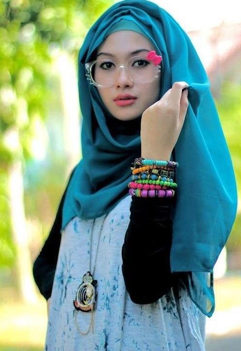 simple hijab style
