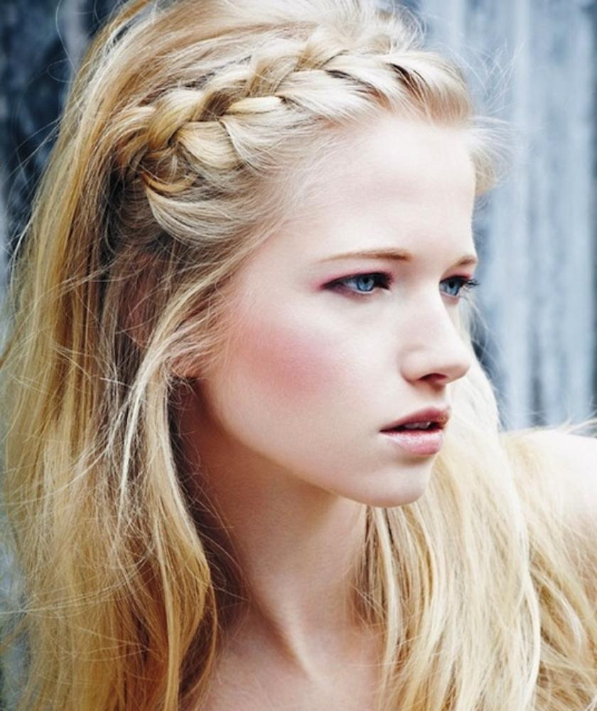 Peachy Front French Braid Hairstyles Braids Hairstyles For Women Draintrainus