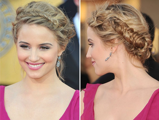 Pleasing Braided Hairdo Crafthubs Hairstyles For Women Draintrainus