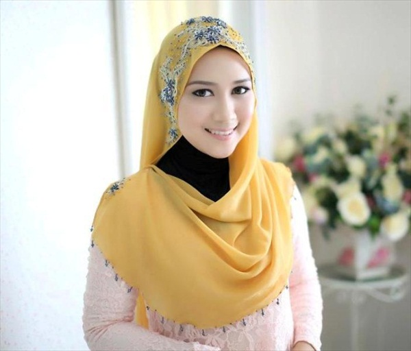 simple hijab styles