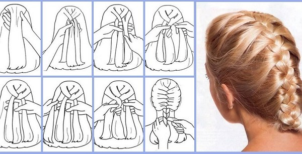 French Braid Tutorial Step By Step Style Arena