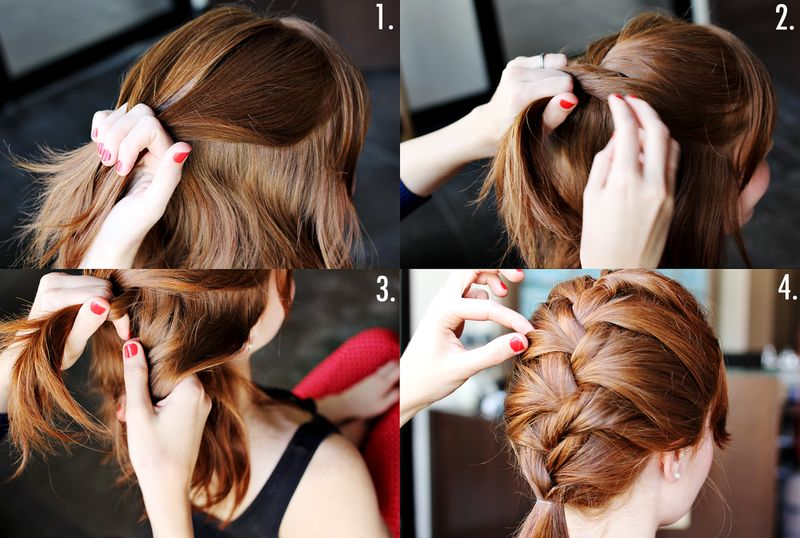 Excellent French Braid Tutorial Step By Step Style Arena Short Hairstyles Gunalazisus