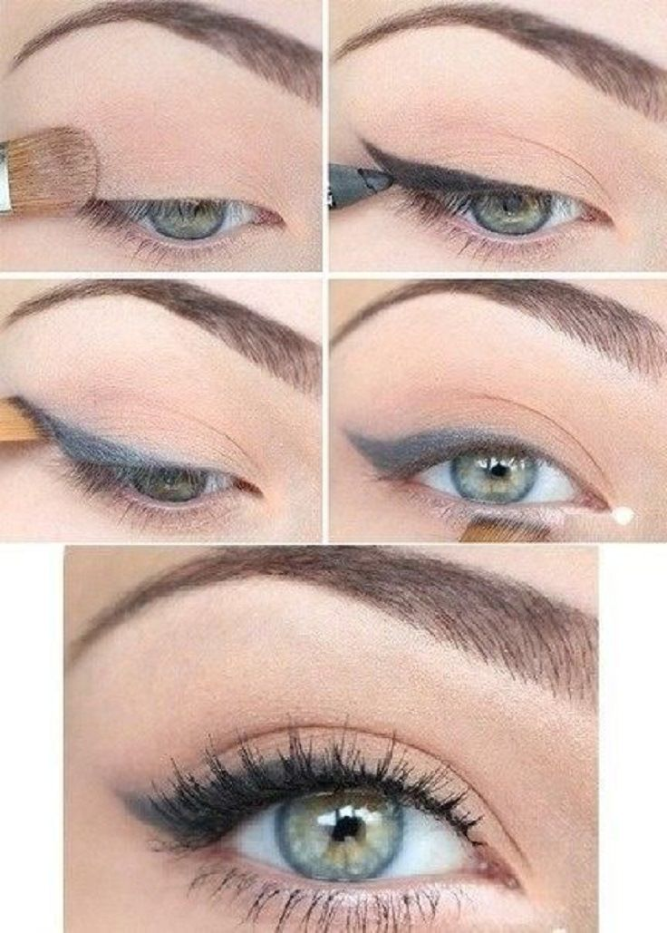 Winged Eyeliner Tutorial Step By Step