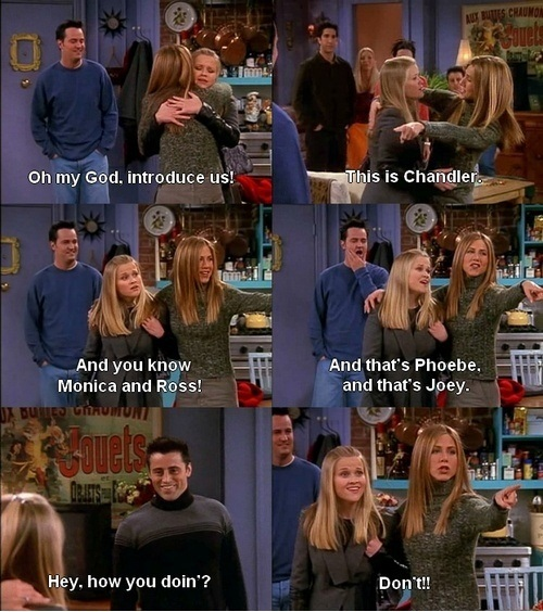 friends show funny quotes