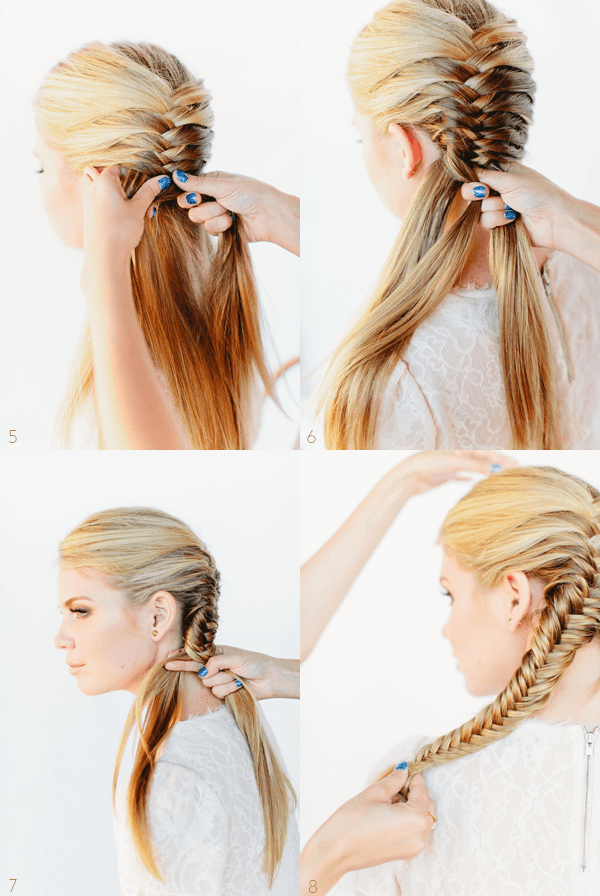 fishtail braid tutorial