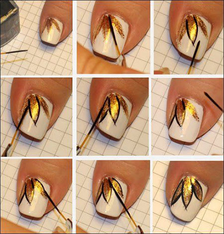 Flower Petals Nail Art Tutorial Simple Step By Style Arena