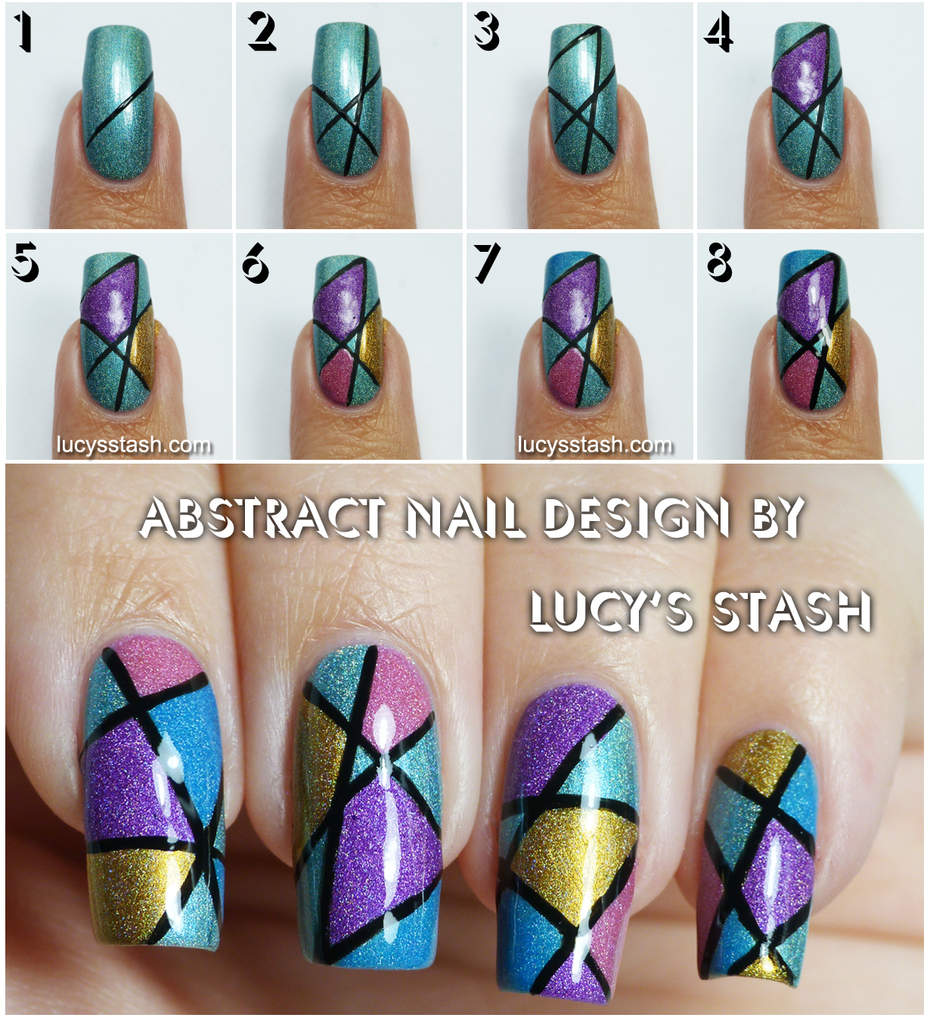 Simple Nail Art Tutorial Step By Step