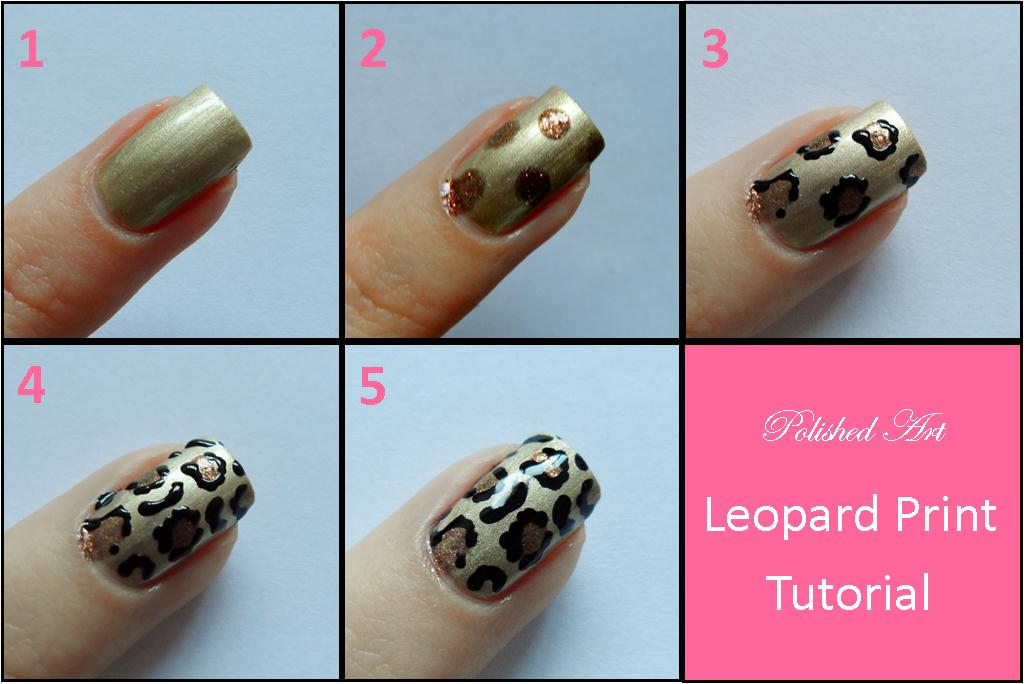 Leopard Nail Art Tutorial