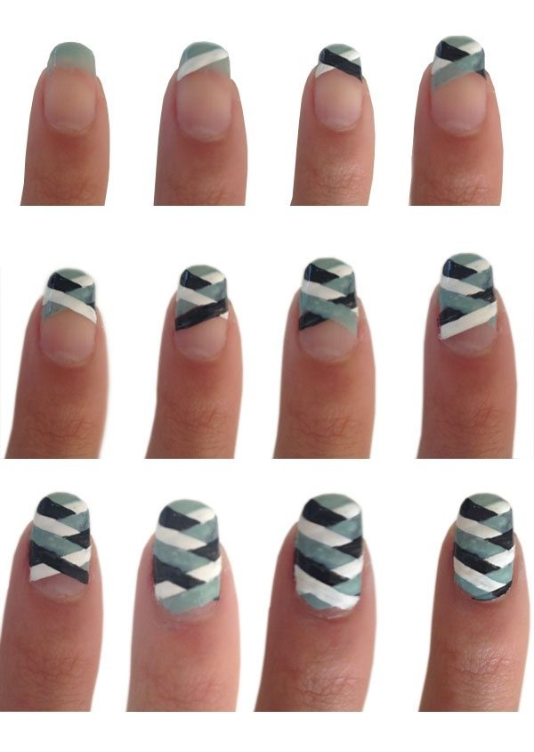 Unique Easy Nail Art Designs Without Tools Image - Nail Art Design ...