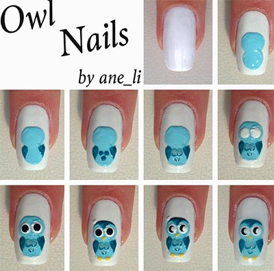Simple Nail Art Tutorial Step By Step Style Arena