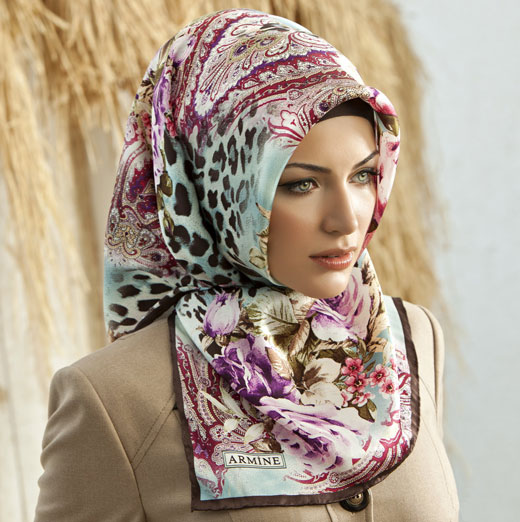 Turkish hijab style step by step style arena Hijab fashion trends style turkish