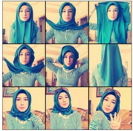 Turkish Hijab Style Step By Step - Style Arena