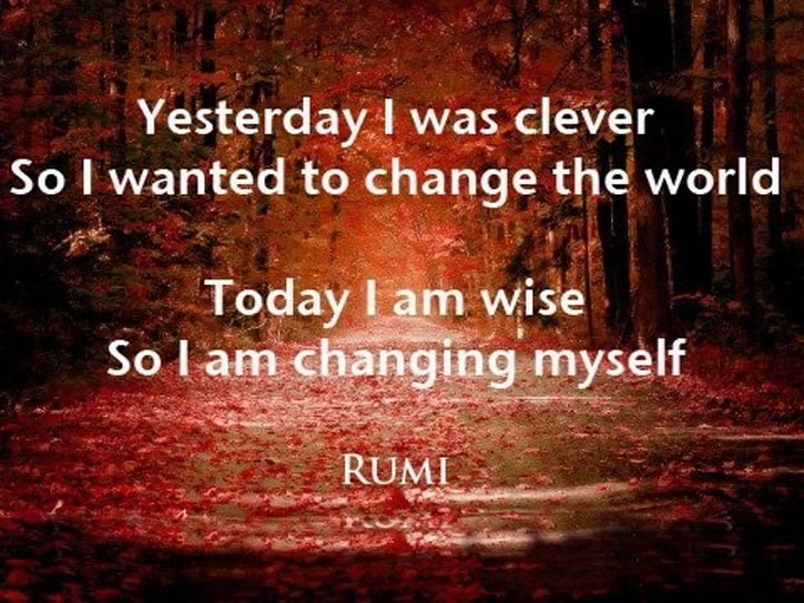 Rumi Quotes 30 Inspiring And Motivating Rumi Quotes  Style Arena