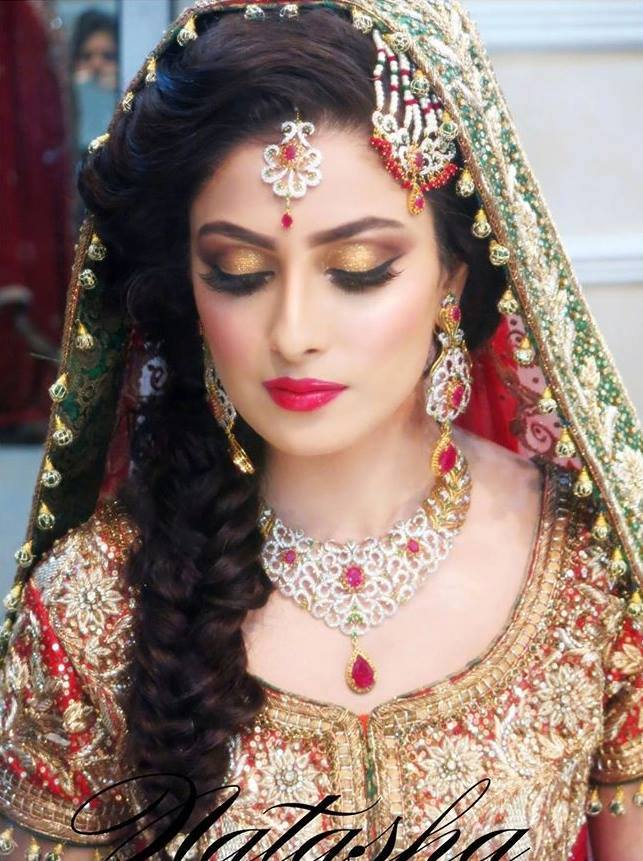 Bridal Makeup Pics Latest : 30+ Beautiful Pakistani Bridal Makeup Looks - Style Arena