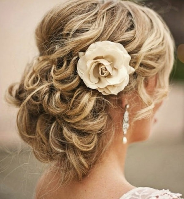 Awe Inspiring 30 Wedding Hairstyles For Brides Style Arena Hairstyles For Women Draintrainus