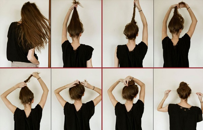 How To Do A Messy Bun Step By Step Style Arena