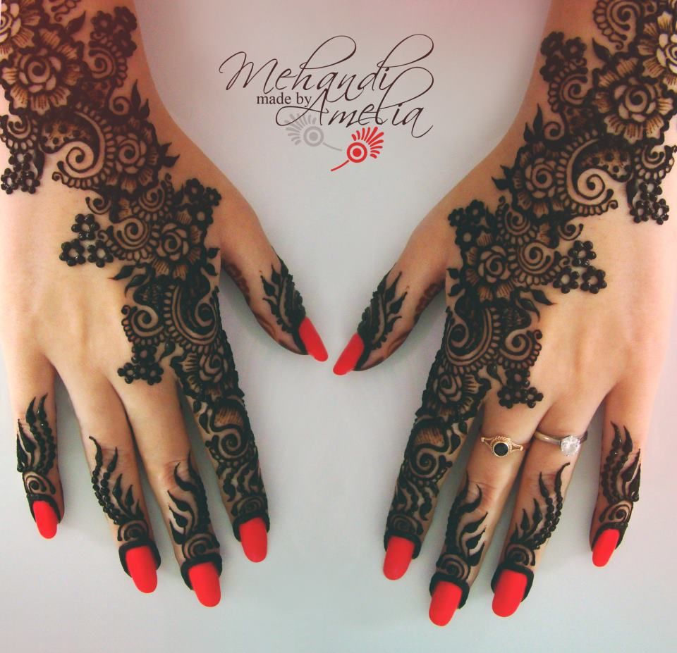 Mehndi Hands With Mobile : Mehndi designs for girls and women style arena