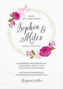 Budget Wedding Invitations By Basic Invite Style Arena